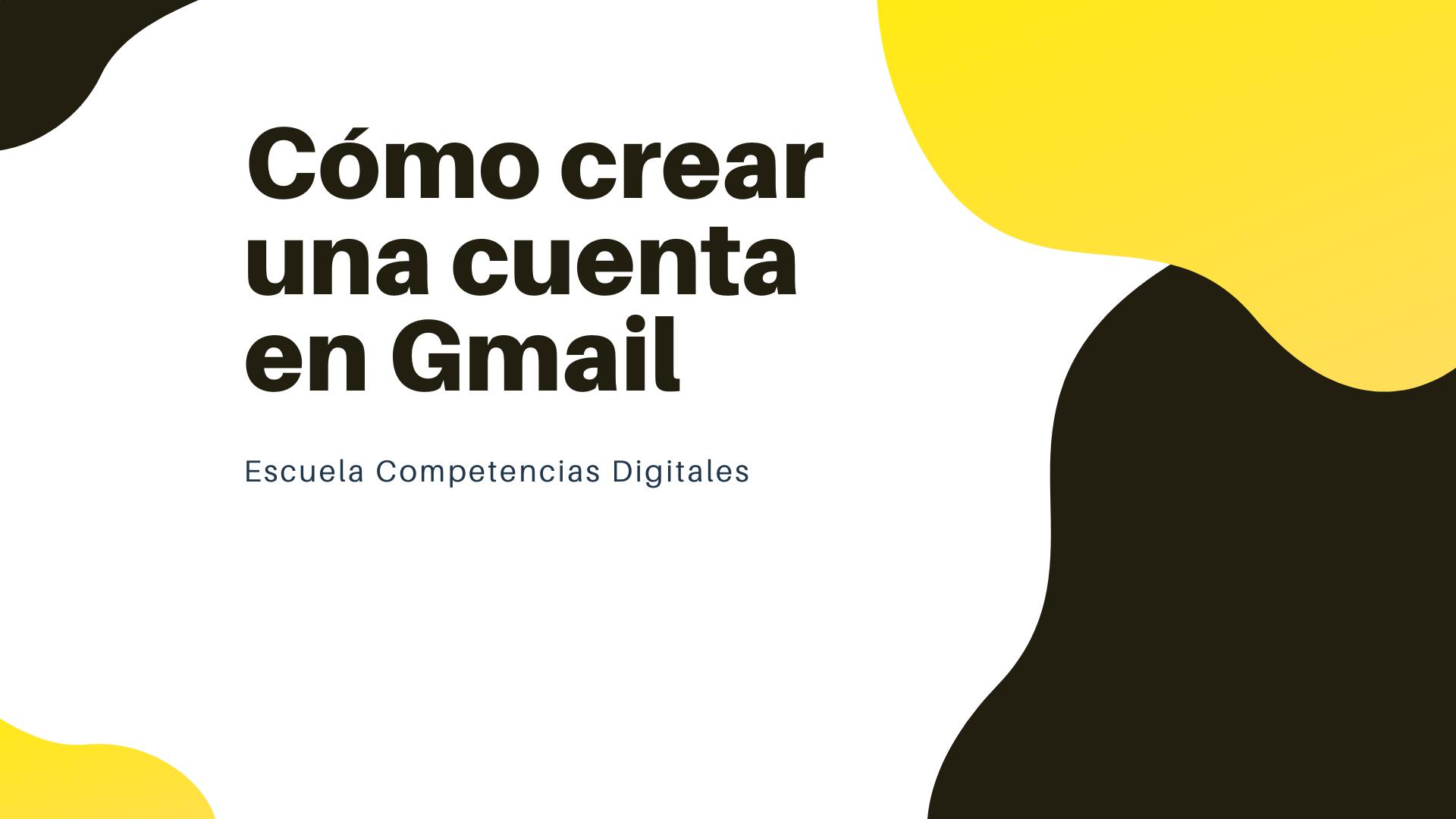 como crear gmail
